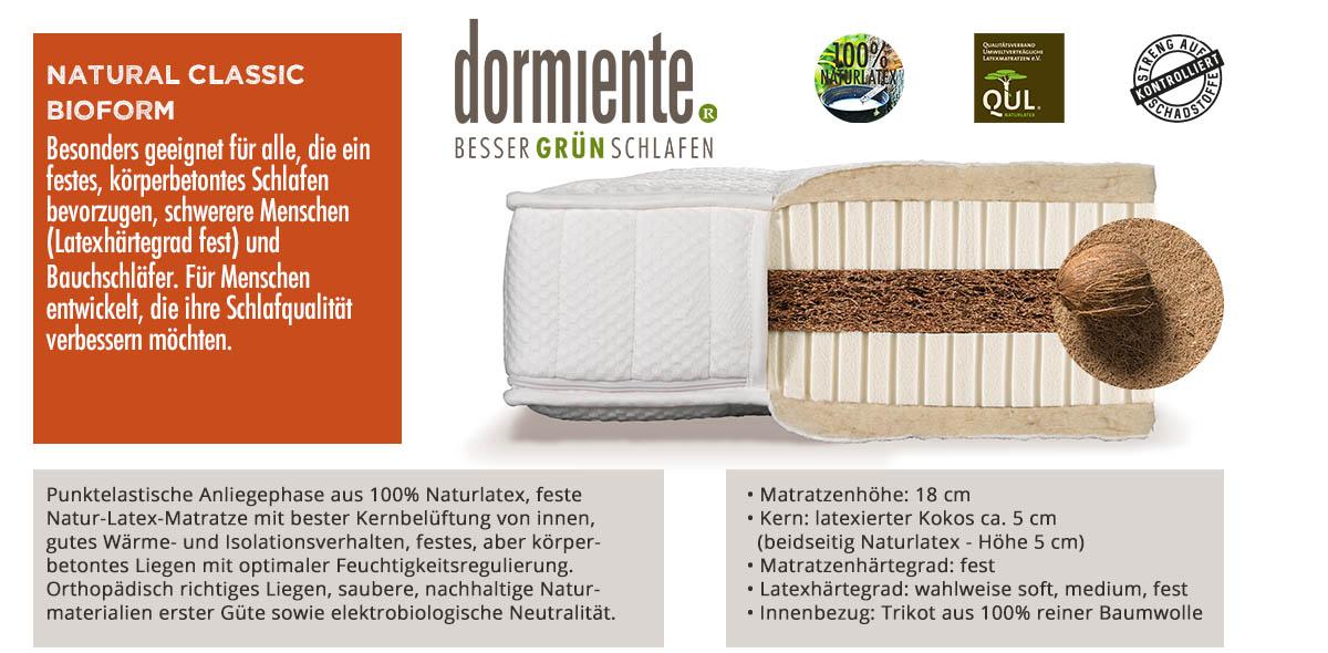 Dormiente-Natural-Classic-Bioform-online-bestellen