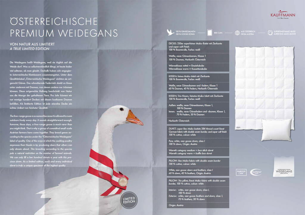 Kauffmann-Weidegans-Kissen-Produktmerkmale