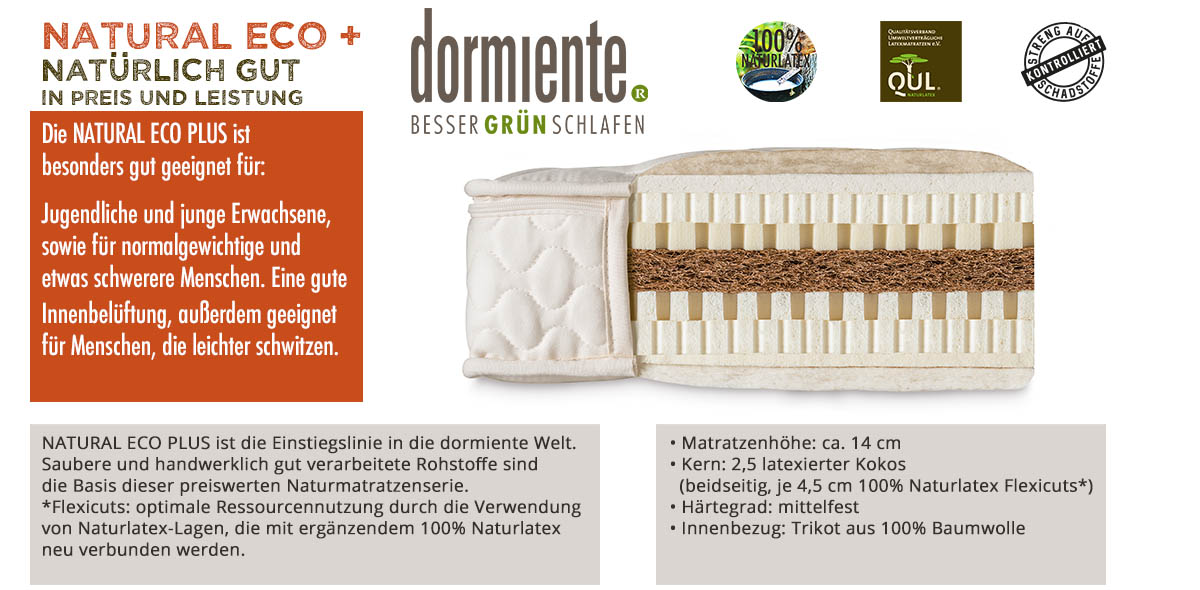 Dormiente-Natural-Eco-Plus-online-bestellen