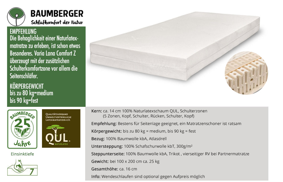 Baumberger-Varia-Lana-Comfort-Z-Naturlatexmatratze-online-bestellen
