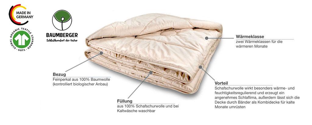Baumberger-Woll-Steppdecke-leicht-Produktmerkmale-Details