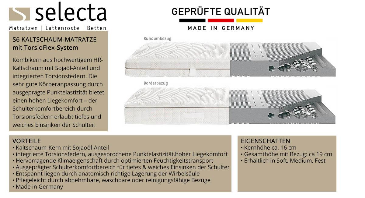 Selecta-ST6-Kaltschaum-Matratze-online-kaufen