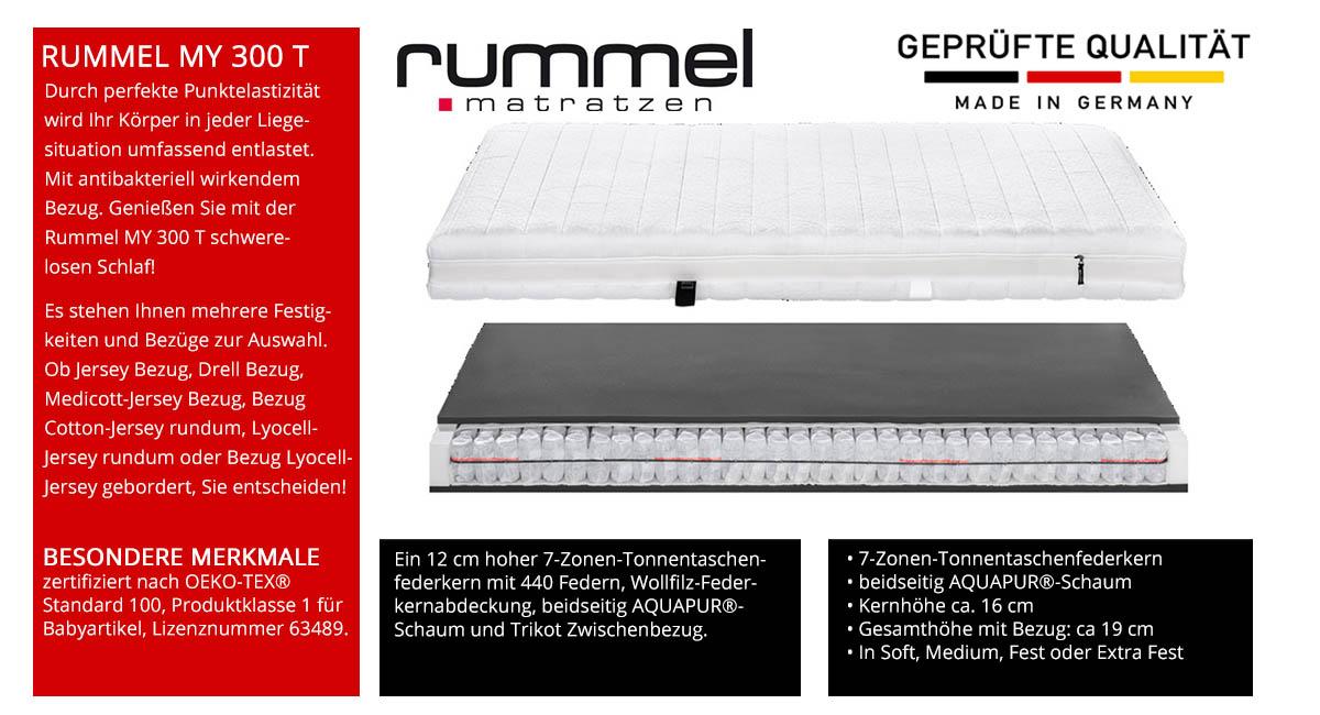 Rummel-MY-300-T-Taschenfederkernmatratze-online-kaufen