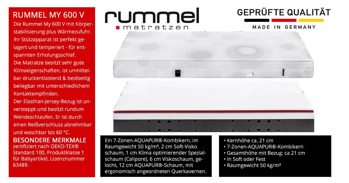 Rummel-MY-600-V-Visco-Matratze-online-kaufen