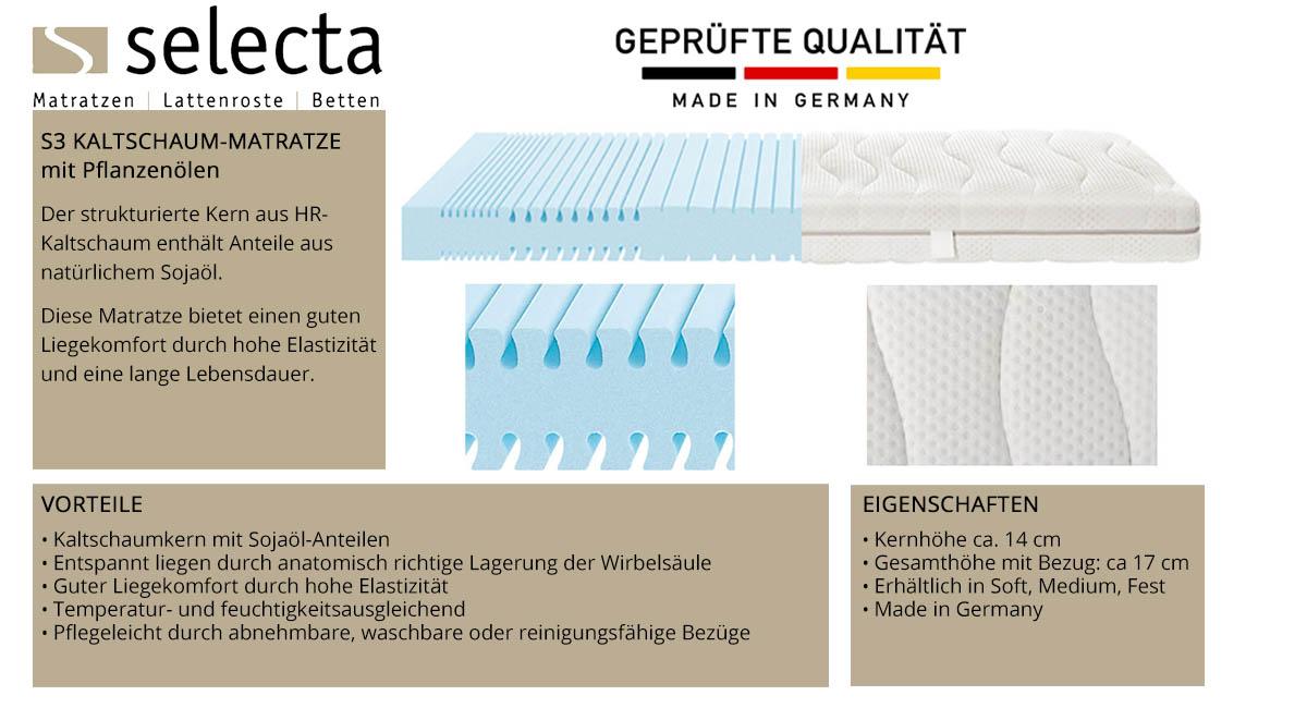 Selecta-S3-Kaltschaum-Matratze-online-kaufen