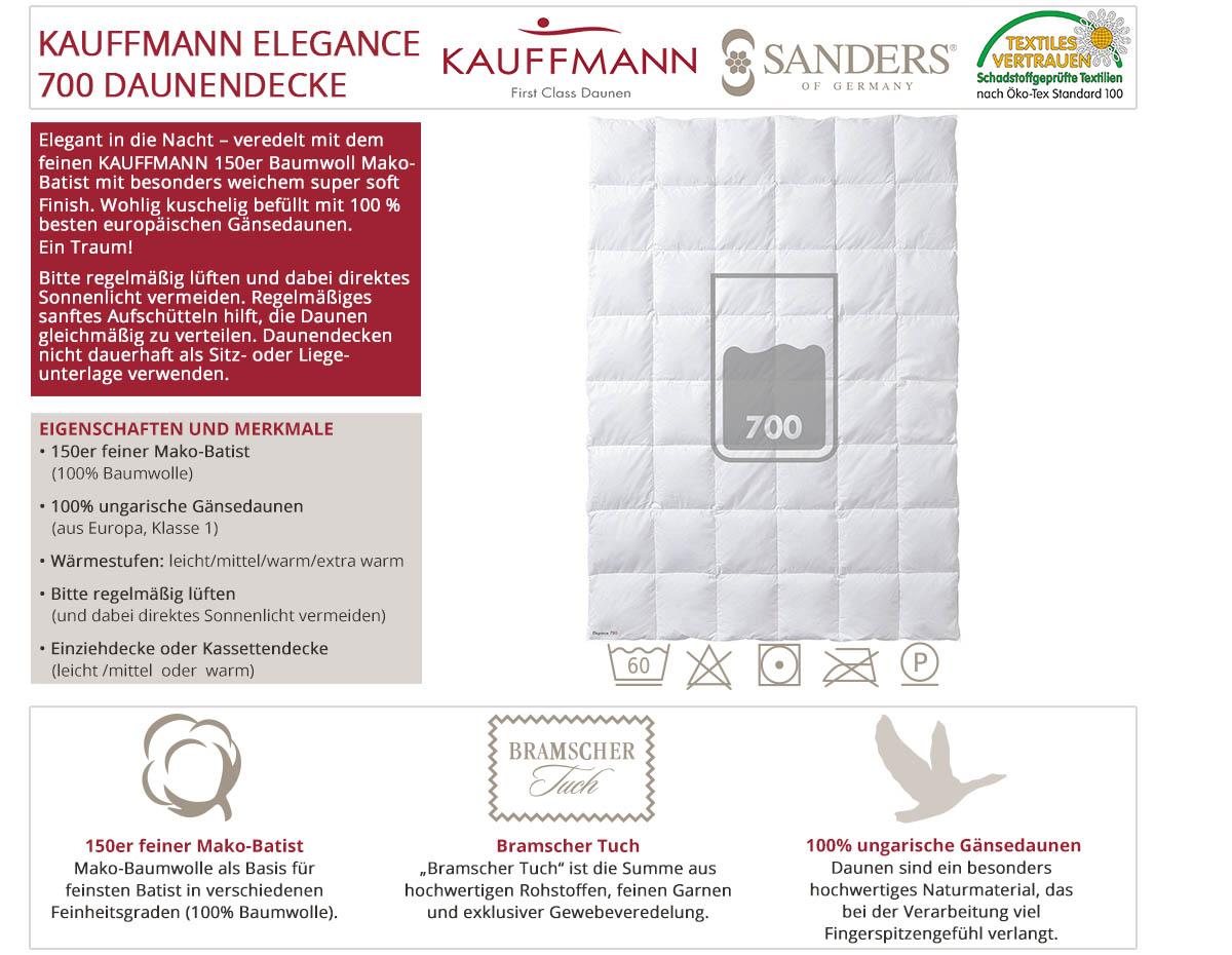 Kauffmann-Sanders-Elegance-700-Daunendecke-online-kaufen
