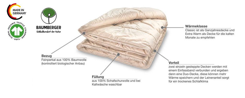 Baumberger-Woll-Steppdecke-Duo-Decke-warm-Produktmerkmale-Details