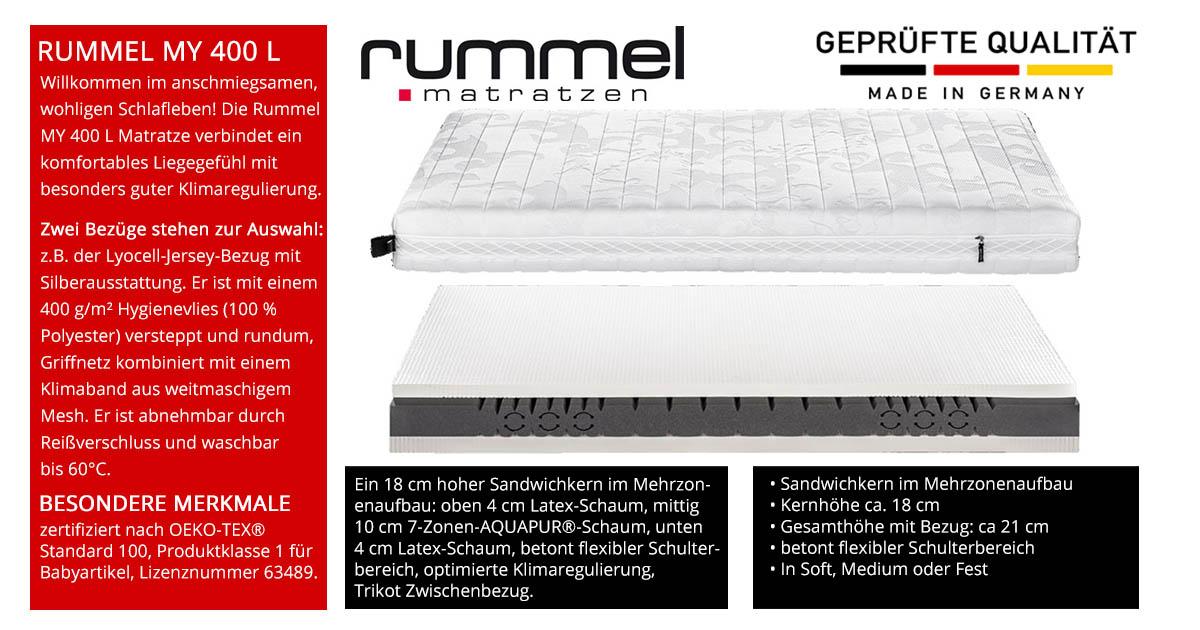 Rummel-MY-400-L-Latex-Schaummatratze-online-kaufen