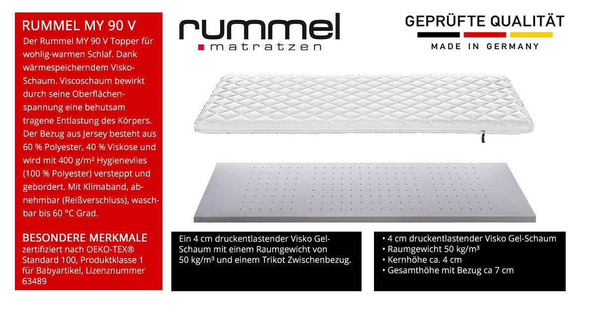 Rummel-MY-90-V-Topper-online-kaufen