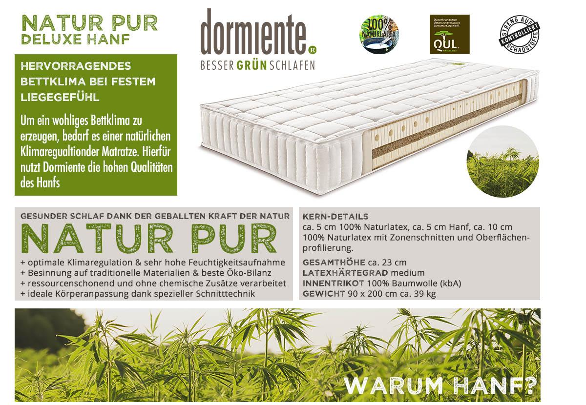 Dormiente-Natur-Pur-Deluxe-Hanf-Matratze-online-kaufen