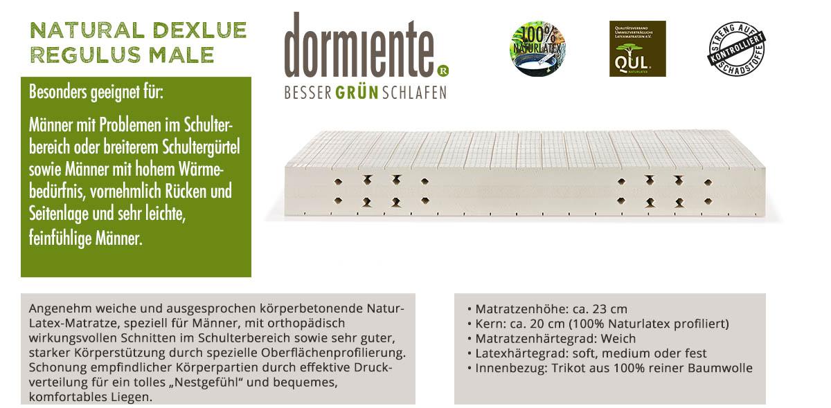 Dormiente-Natural-Deluxe-Regulus-Male-online-bestellen