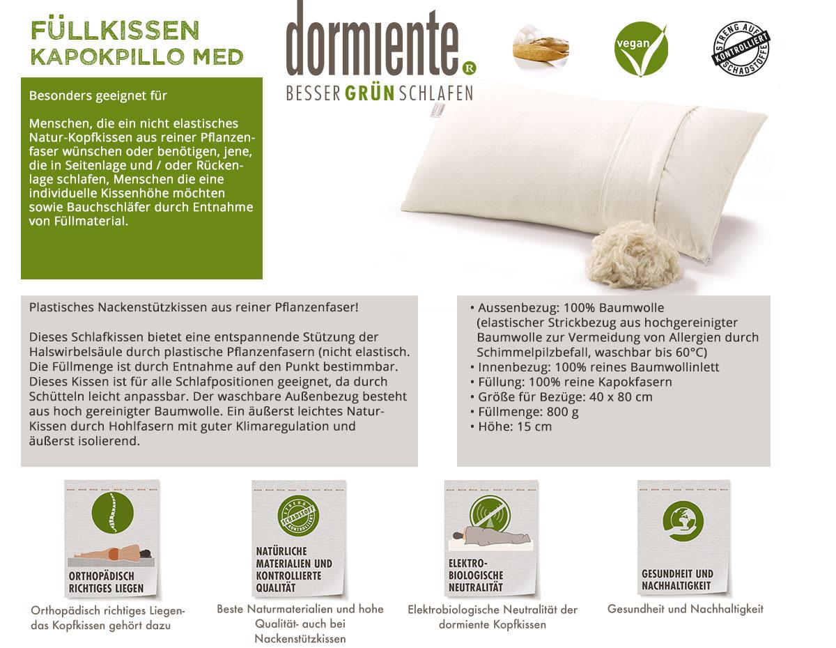 Dormiente-Naturkopfkissen-Kapokpillo-Med-online-bestellen