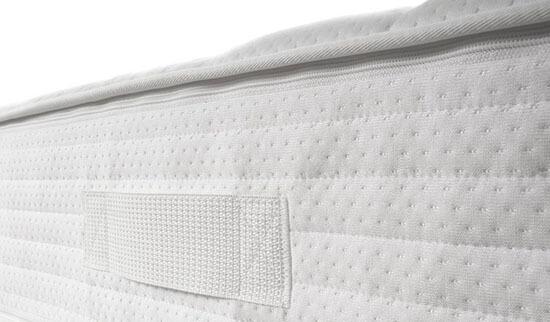 Selecta-S19-Kaltschaummatratze-Detailansicht-Bezug