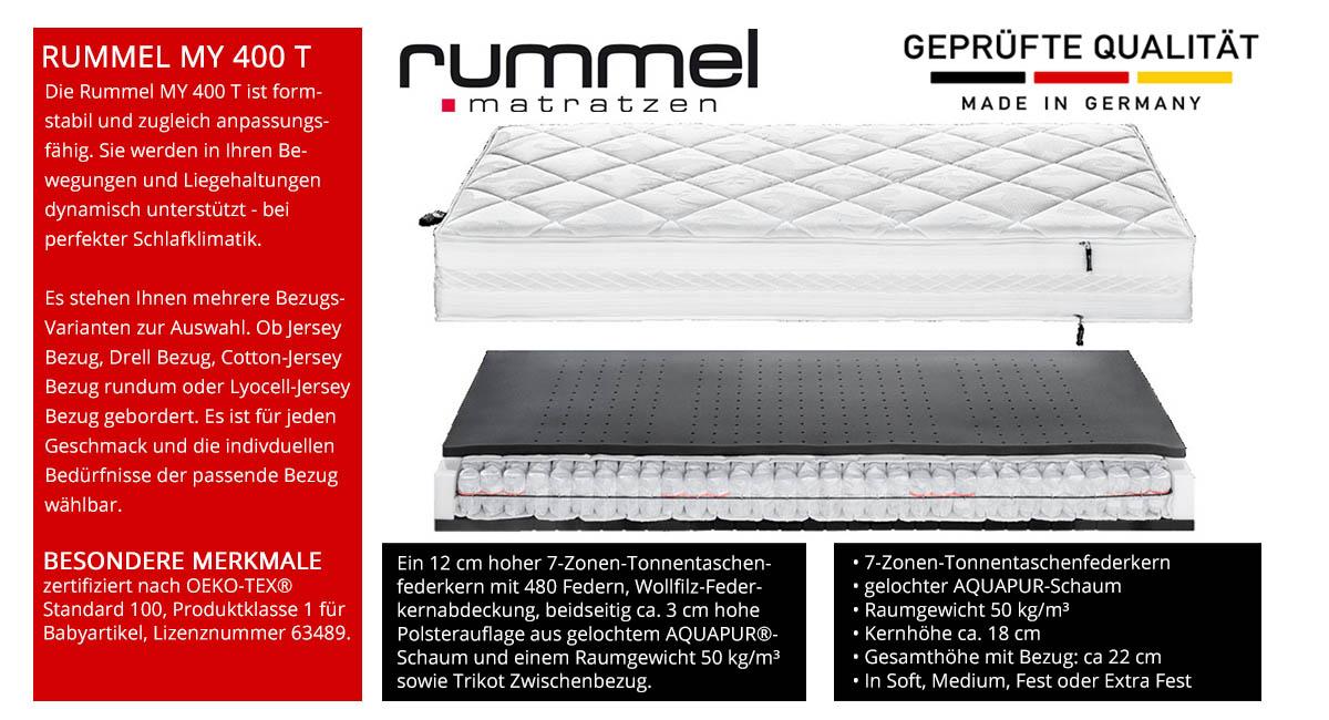 Rummel-MY-400-T-Taschenfederkernmatratze-online-kaufen