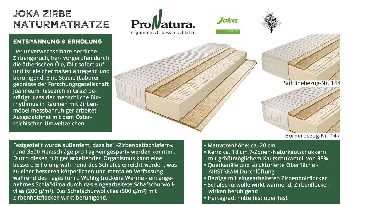 ProNatura-Joka-Naturmatratze-Zirbe-online-kaufen