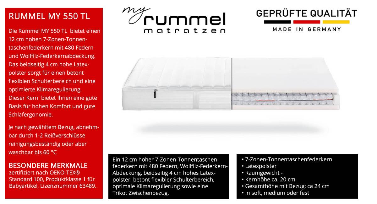 Rummel-MY-550-TL-Taschenfederkernmatratze-7-Zonen-kaufen