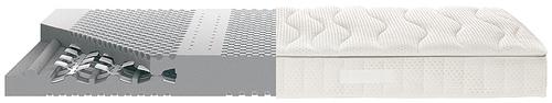 Selecta-ST6-Kaltschaummatratze-TorsioFlex-System-Seitenansicht