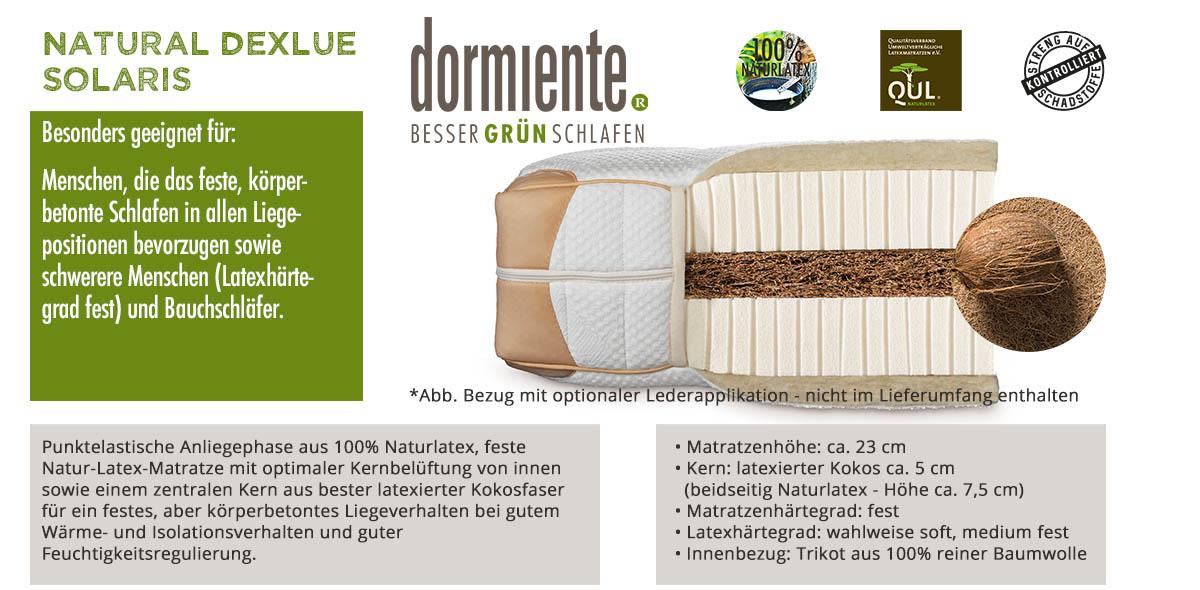 Dormiente-Natural-Deluxe-Solaris-online-bestellen