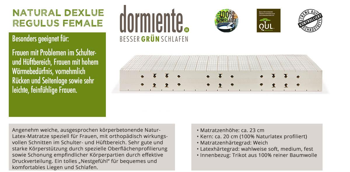 Dormiente-Natural-Deluxe-Regulus-Female-online-bestellen