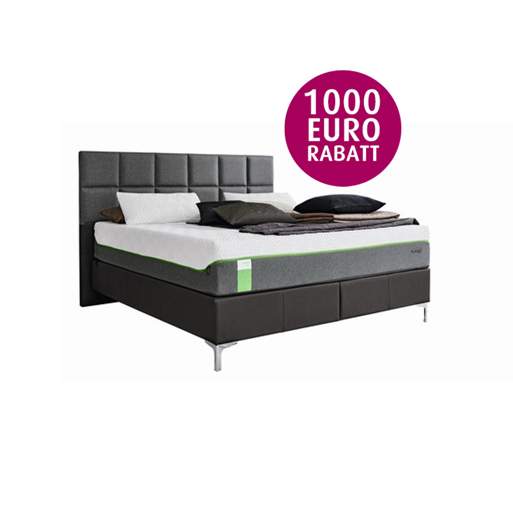 Tempur Boxspring Bett Foundation Adjustable incl. Sensation Luxe ...
