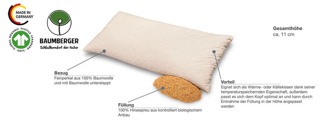 Baumberger-Hirse-Steppkissen-Produktmerkmale-Details