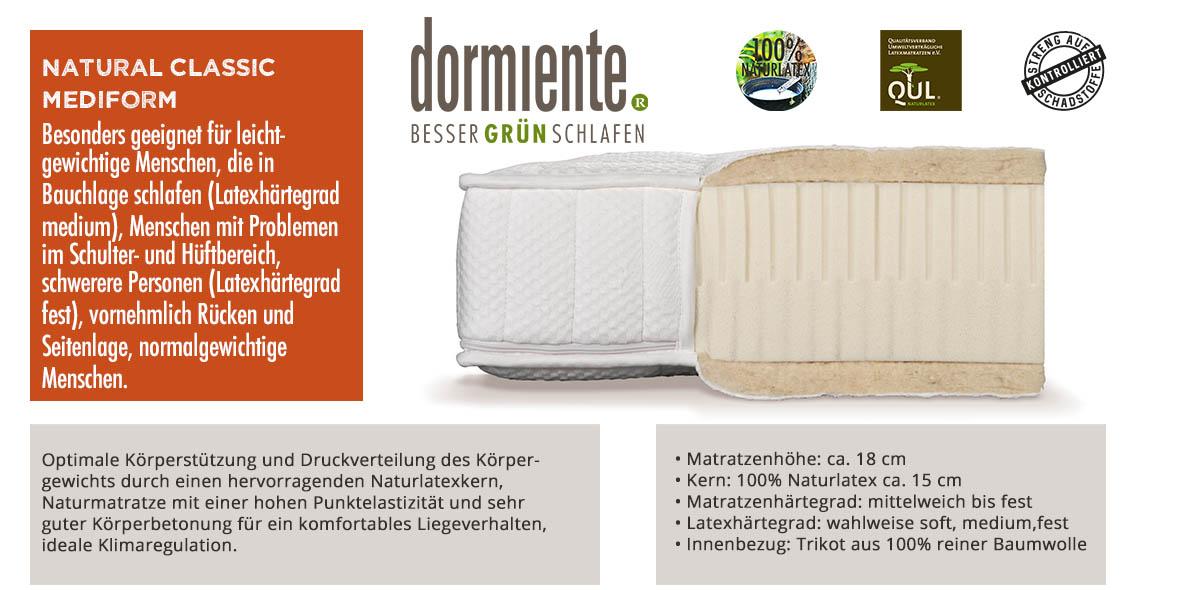 Dormiente-Natural-Classic-Mediform-online-bestellen