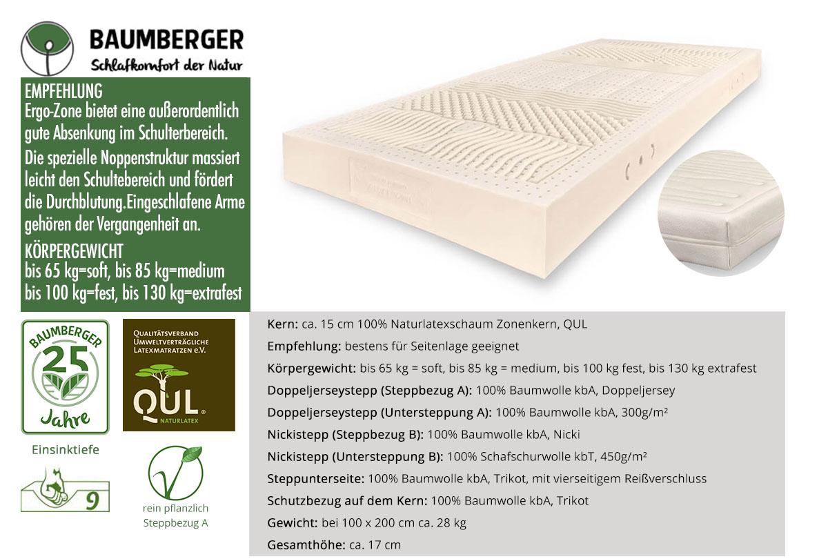 Baumberger-Ergo-Zone-Naturlatexmatratze-online-kaufen