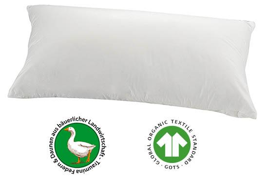 Traumina-Plume-Bio-Daunen-Kissen-Soft-Zertifikate