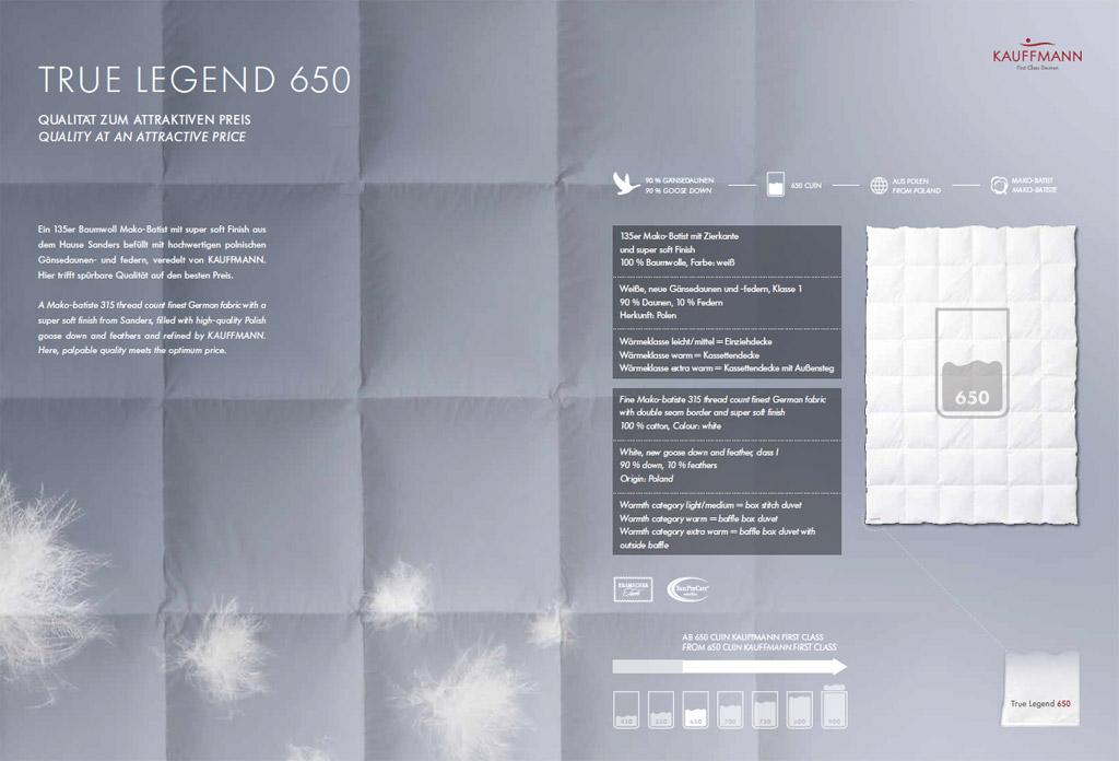 Kauffmann-Legend-650-Daunendecke-Produktmerkmale
