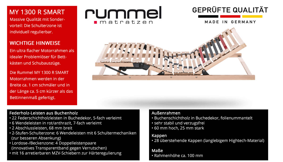 Rummel-MY-1300-R-SMART-Lattenrost-online-kaufen