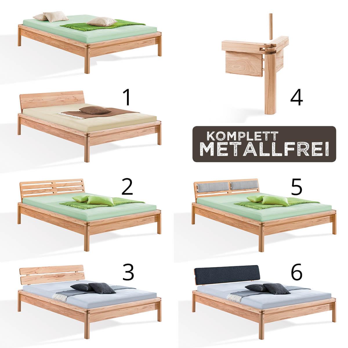 dormiente-Massivholzbett-PIU-Varianten
