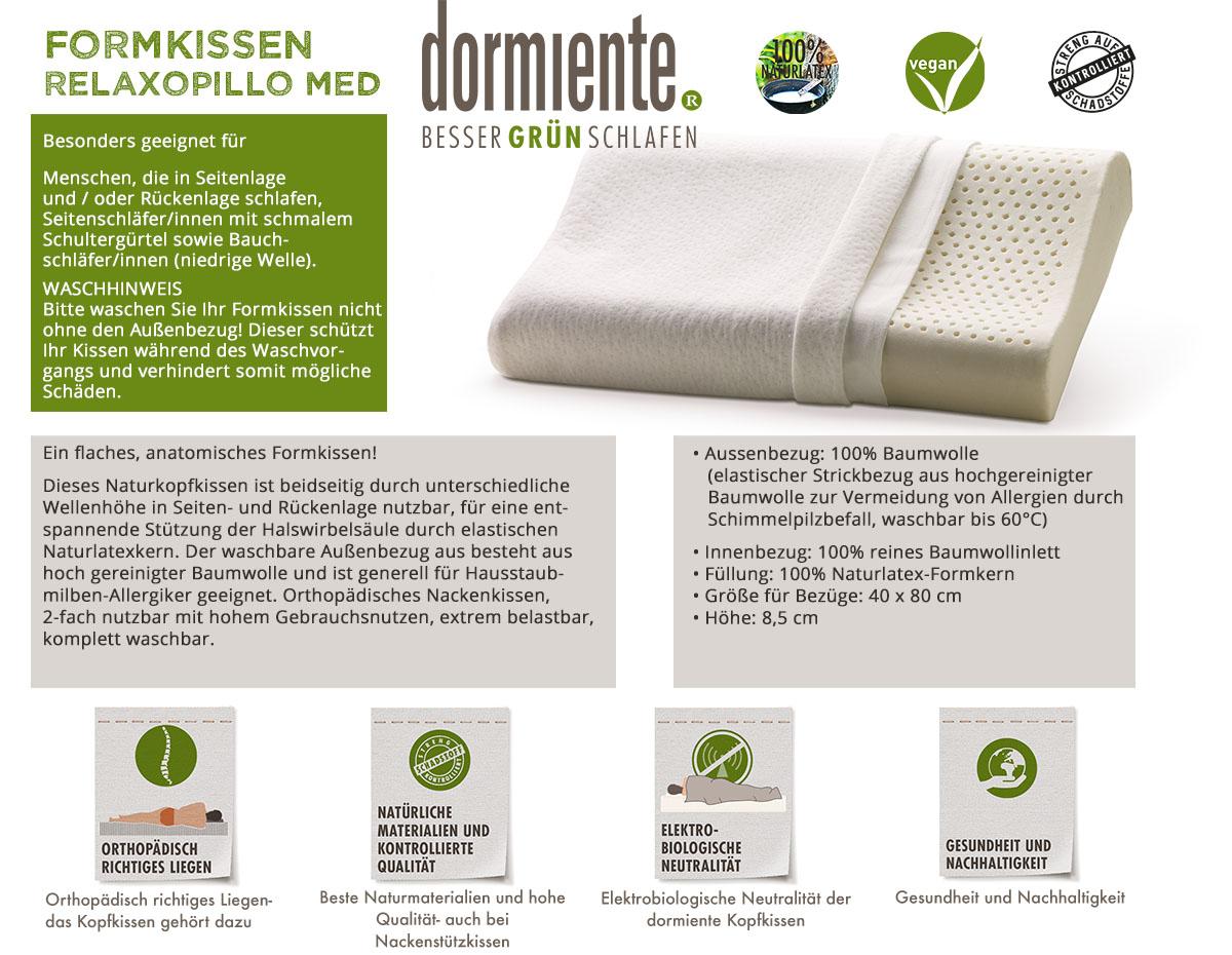 Dormiente-Formkissen-Relaxopillo-Med-online-bestellen