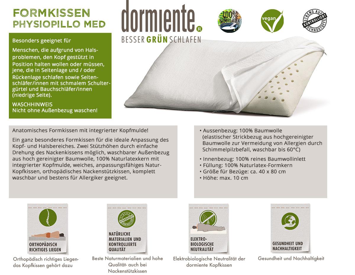 Dormiente-Formkissen-Physiopillo-Med-online-bestellen
