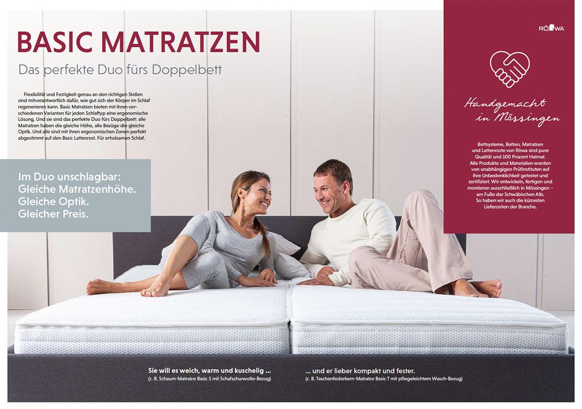 Rowa-Basic-T-Matratze-Perfektes-Doppelbett-Duo
