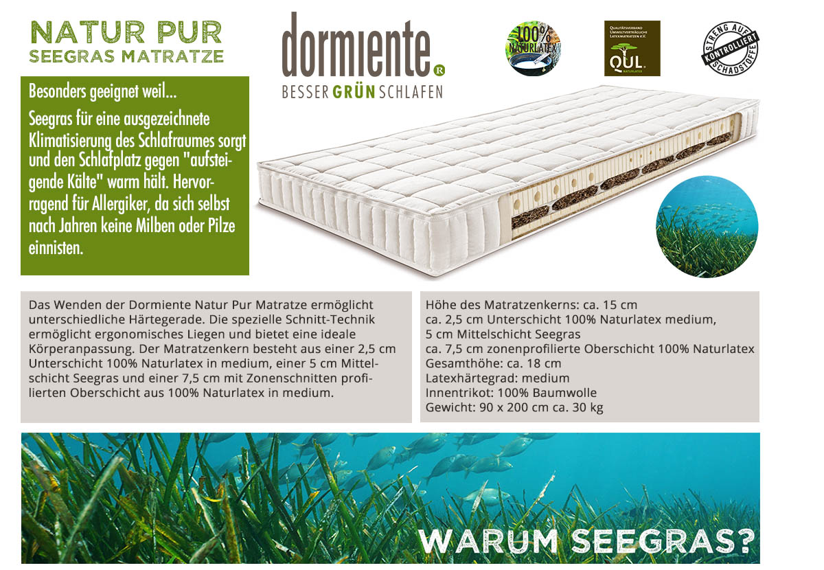 Dormiente-Natur-Pur-Classic-Seegras-Matratze-kaufen
