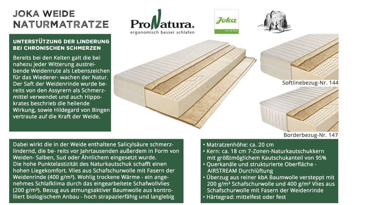 ProNatura-Joka-Naturmatratze-Weidenrinde-online-kaufen