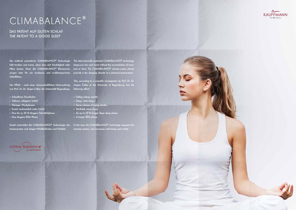 Kauffmann-Climabalance-Daunendecke-Produktmerkmale