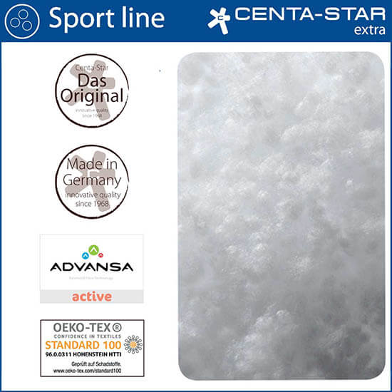 Centa-Star-Sport-Line-Kopfkissen-gesteppt-Detailansicht-Qualitaetsmerkmale