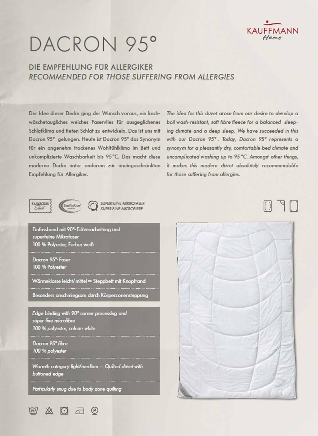 Kauffmann-Dacron-95-Decke-Produktdetails