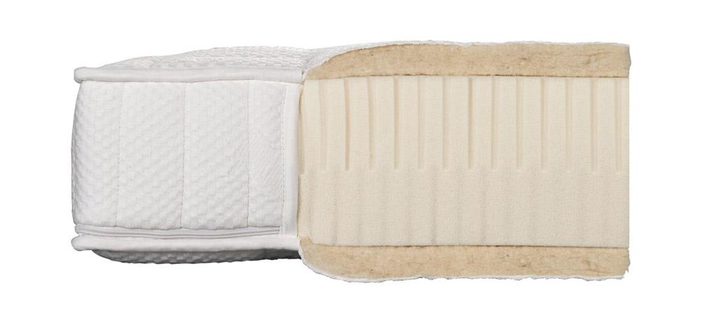 Dormiente-Natural-Classic-Mediform-Latexmatratze-Detailansicht-Kern